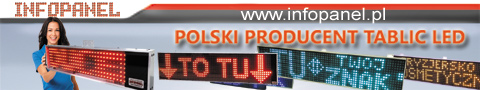 INFOPANEL.PL - Reklamy - tablice LED PRODUCENT