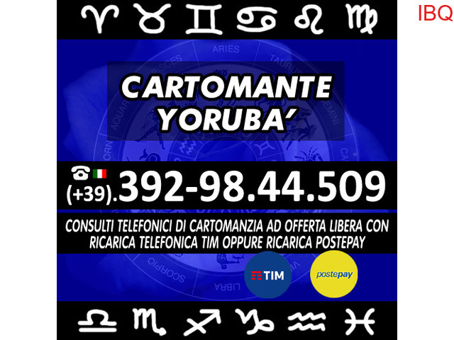 ★Consulto di Cartomanzia a offerta libera - 30 minuti di tempo per 1 consulto - Cartomante Yoruba'★