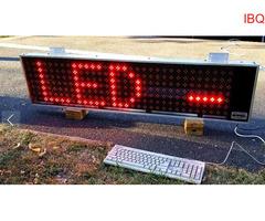 Nowa Tablica LED INFOPANEL 30 x 120 cm - Super Reklama LED